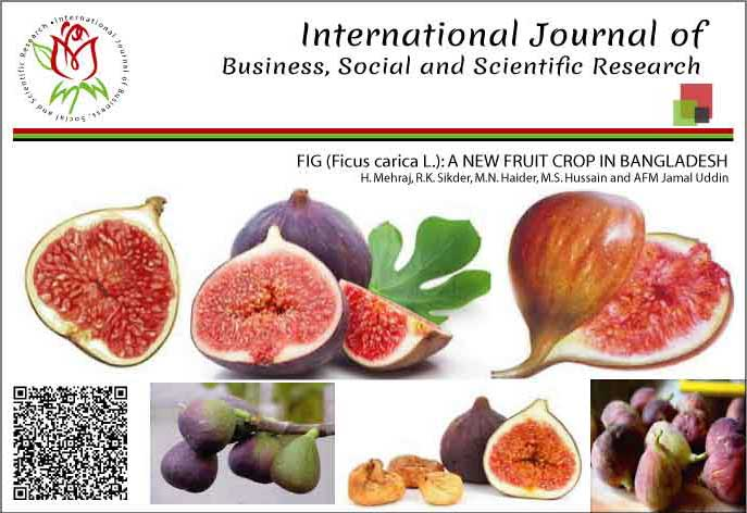FIG (<i>Ficus carica</i> L.): A NEW FRUIT CROP IN BANGLADESH