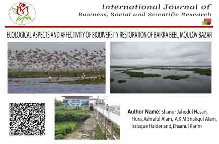 ECOLOGICAL ASPECTS AND AFFECTIVITY OF BIODIVERSITY RESTORATION OF BAIKKA BEEL, MOULOVIBAZAR