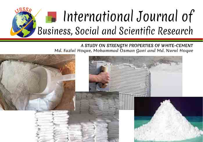 A STUDY ON STRENGTH PROPERTIES OF WHITE-CEMENT