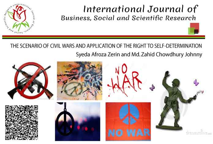 THE SCENARIO OF CIVIL WARS AND APPLICATION OF THE RIGHT TO SELF-DETERMINATION