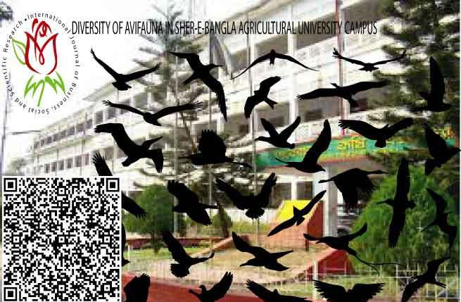 DIVERSITY OF AVIFAUNA IN SHER-E-BANGLA AGRICULTURAL UNIVERSITY CAMPUS