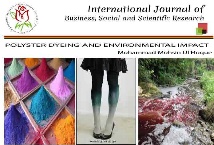 POLYSTER DYEING AND ENVIRONMENTAL IMPACT