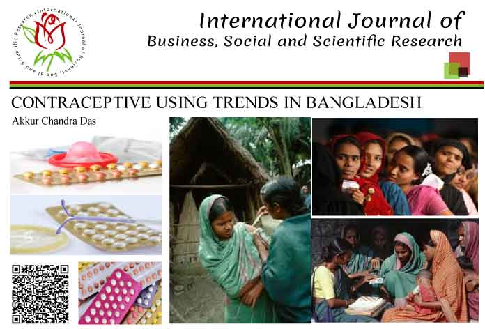 CONTRACEPTIVE USING TRENDS IN BANGLADESH