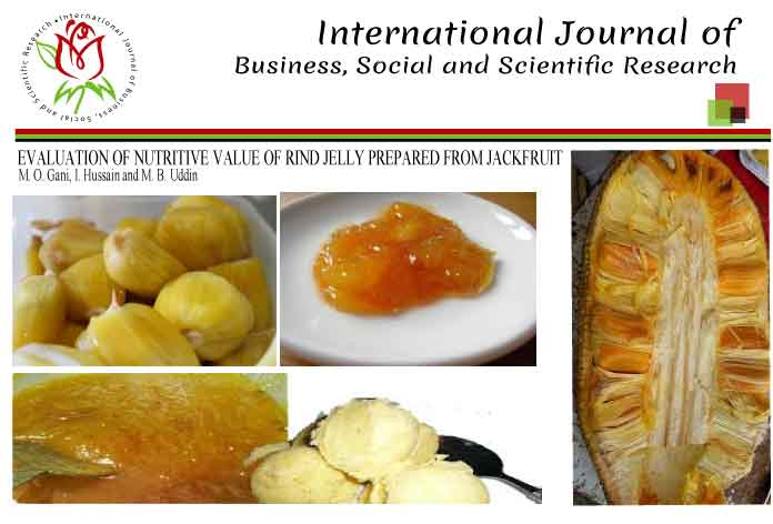 EVALUATION OF NUTRITIVE VALUE OF RIND JELLY PREPARED FROM JACKFRUIT