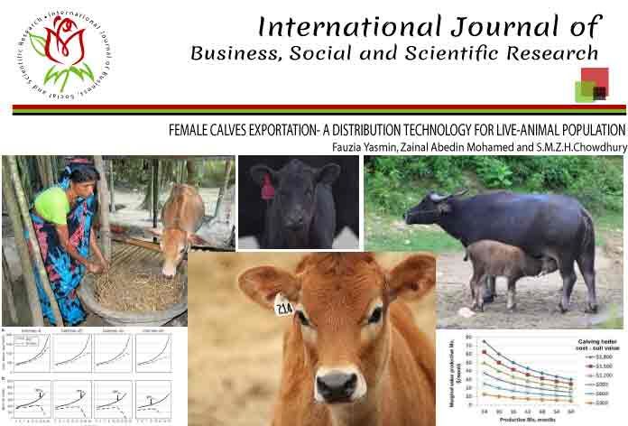 FEMALE CALVES EXPORTATION- A DISTRIBUTION TECHNOLOGY FOR LIVE-ANIMAL POPULATION