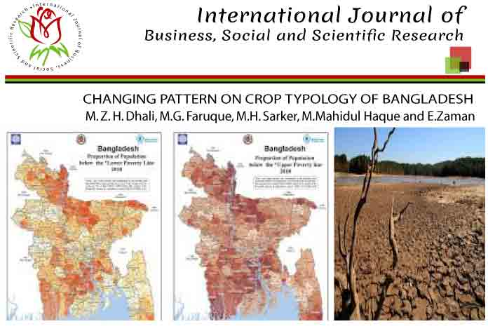 CHANGING PATTERN ON CROP TYPOLOGY OF BANGLADESH