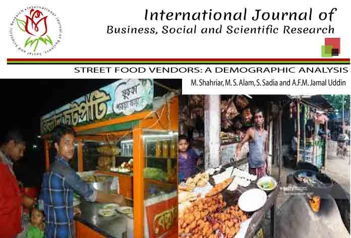 STREET FOOD VENDORS: A DEMOGRAPHIC ANALYSIS