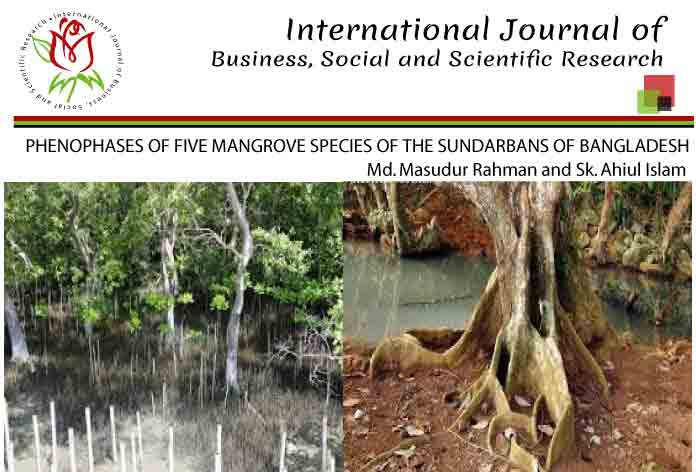 PHENOPHASES OF FIVE MANGROVE SPECIES OF THE SUNDARBANS OF BANGLADESH