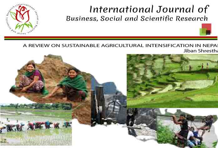 A REVIEW ON SUSTAINABLE AGRICULTURAL INTENSIFICATION IN NEPAL