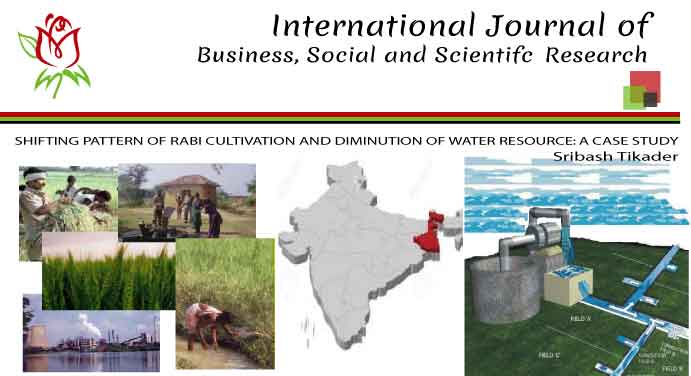 SHIFTING PATTERN OF RABI CULTIVATION AND DIMINUTION OF WATER RESOURCE: A CASE STUDY