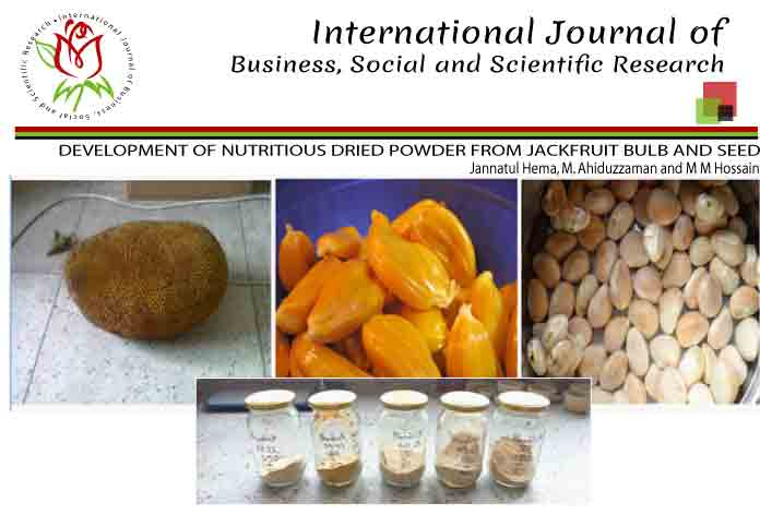 DEVELOPMENT OF NUTRITIOUS DRIED POWDER FROM JACKFRUIT BULB AND SEED