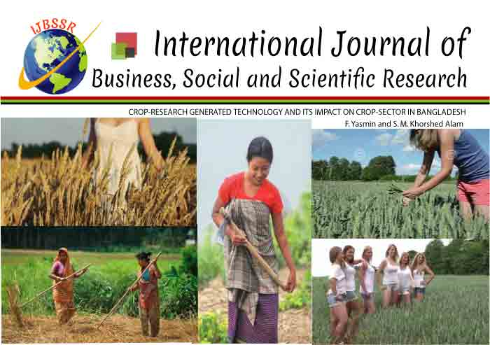 CROP-RESEARCH GENERATED TECHNOLOGY AND ITS IMPACT ON CROP-SECTOR IN BANGLADESH