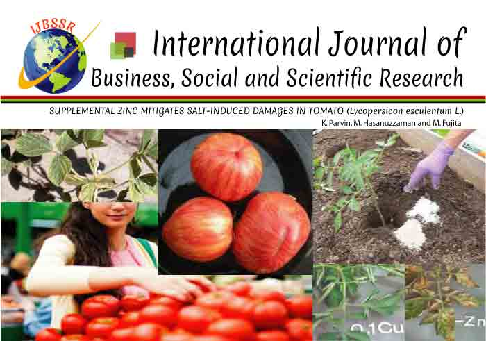 SUPPLEMENTAL ZINC MITIGATES SALT-INDUCED DAMAGES IN TOMATO (Lycopersicon esculentum L.)