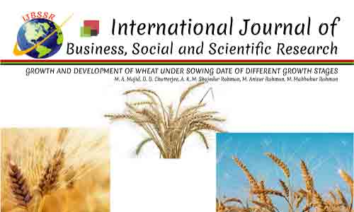 GROWTH AND DEVELOPMENT OF WHEAT UNDER SOWING DATE OF DIFFERENT GROWTH STAGES