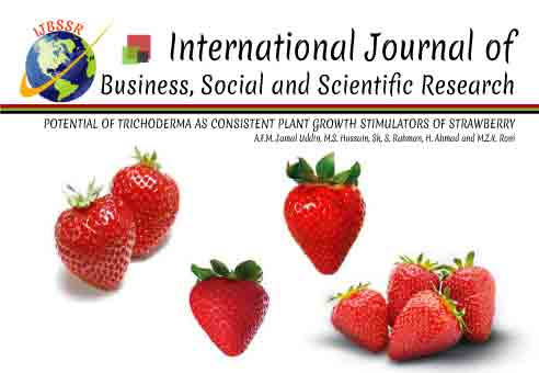 POTENTIAL OF TRICHODERMA AS CONSISTENT PLANT GROWTH STIMULATORS OF STRAWBERRY