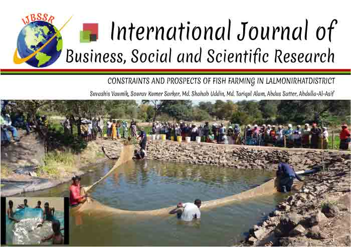 CONSTRAINTS AND PROSPECTS OF FISH FARMING IN LALMONIRHATDISTRICT