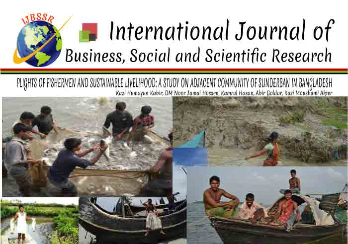 PLIGHTS OF FISHERMEN AND SUSTAINABLE LIVELIHOOD: A STUDY ON ADJACENT COMMUNITY OF SUNDERBAN IN BANGLADESH