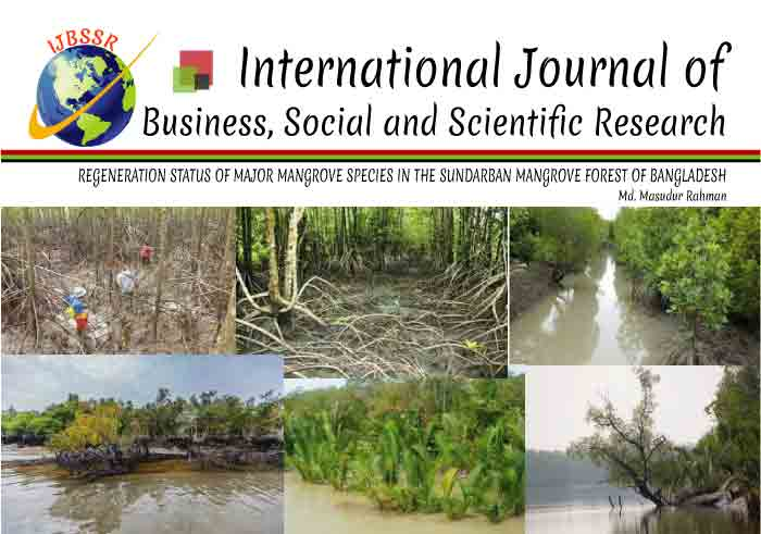 REGENERATION STATUS OF MAJOR MANGROVE SPECIES IN THE SUNDARBAN MANGROVE FOREST OF BANGLADESH