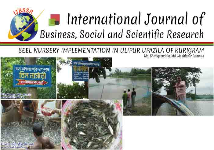 BEEL NURSERY IMPLEMENTATION IN ULIPUR UPAZILA OF KURIGRAM