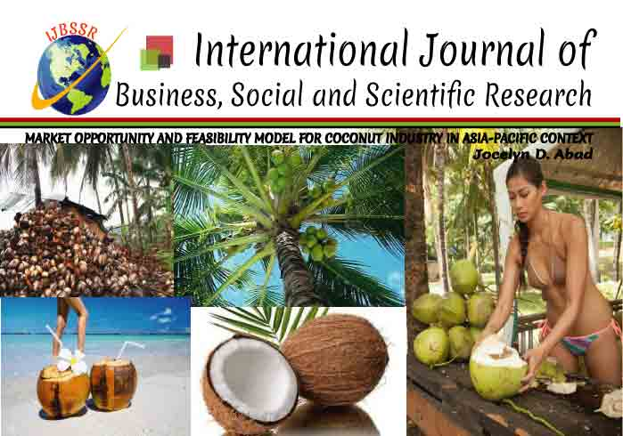 MARKET OPPORTUNITY AND FEASIBILITY MODEL FOR COCONUT INDUSTRY IN ASIA-PACIFIC CONTEXT