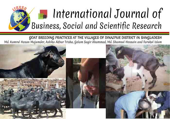 GOAT BREEDING PRACTICES AT THE VILLAGES OF DINAJPUR DISTRICT IN BANGLADESH