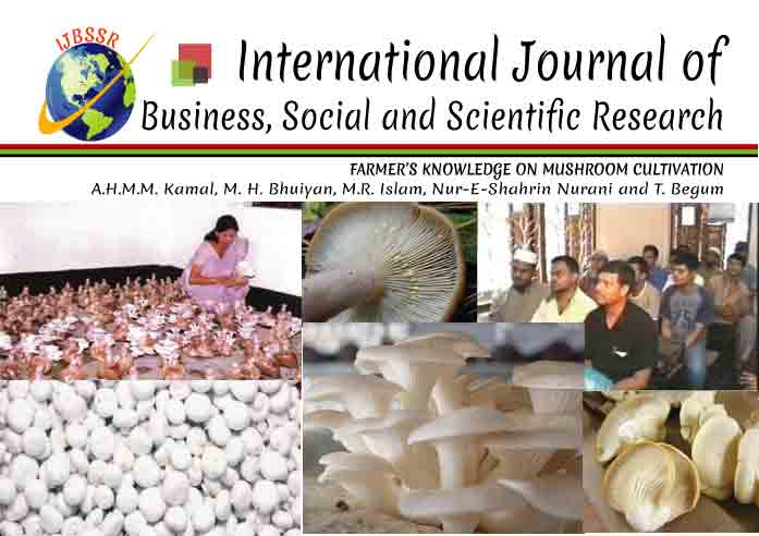 FARMER'S KNOWLEDGE ON MUSHROOM CULTIVATION