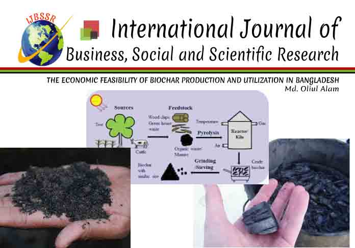 THE ECONOMIC FEASIBILITY OF BIOCHAR PRODUCTION AND UTILIZATION IN BANGLADESH