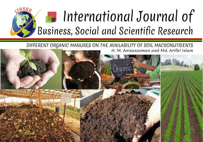 DIFFERENT ORGANIC MANURES ON THE AVAILABILITY OF SOIL MACRONUTRIENTS