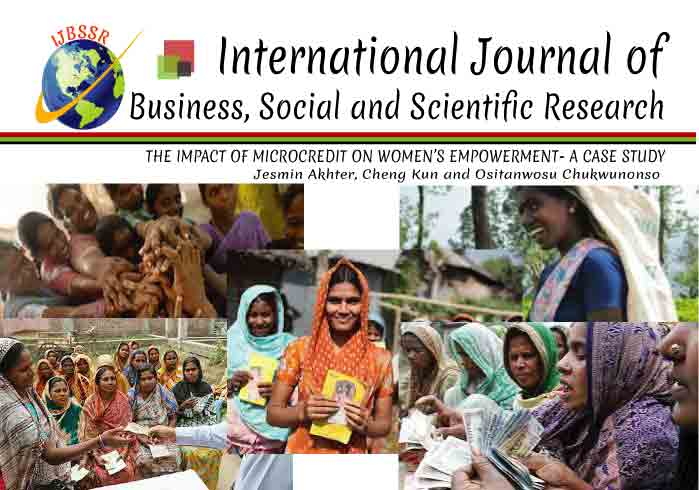 THE IMPACT OF MICROCREDIT ON WOMEN'S EMPOWERMENT- A CASE STUDY