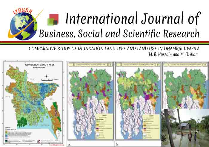 COMPARATIVE STUDY OF INUNDATION LAND TYPE AND LAND USE IN DHAMRAI UPAZILA