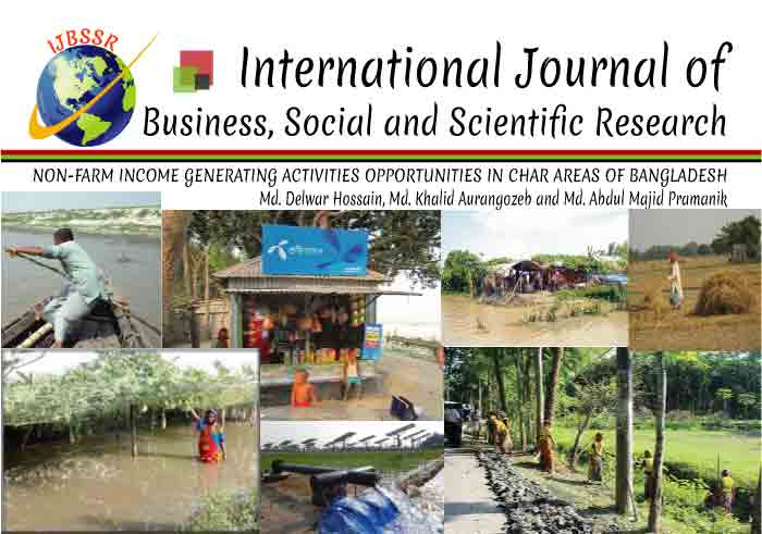 NON-FARM INCOME GENERATING ACTIVITIES OPPORTUNITIES IN CHAR AREAS OF BANGLADESH