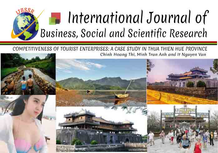 COMPETITIVENESS OF TOURIST ENTERPRISES: A CASE STUDY IN THUA THIEN HUE PROVINCE