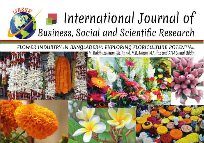 FLOWER INDUSTRY IN BANGLADESH: EXPLORING FLORICULTURE POTENTIAL