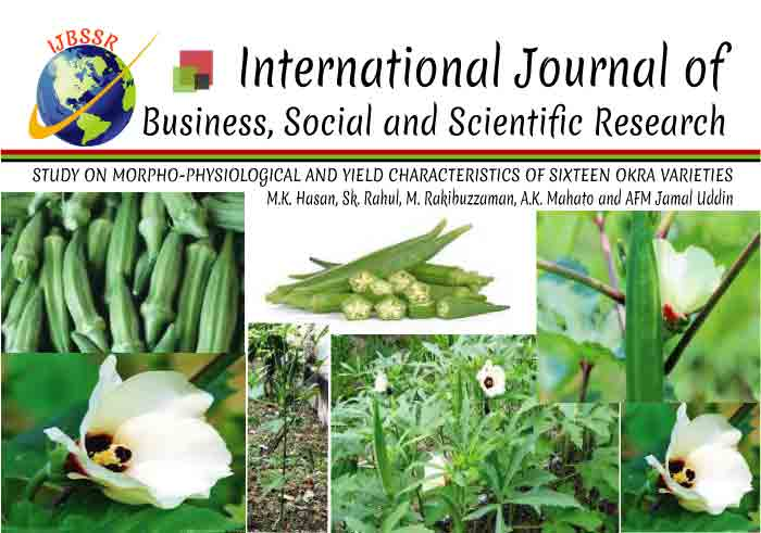 STUDY ON MORPHO-PHYSIOLOGICAL AND YIELD CHARACTERISTICS OF SIXTEEN OKRA VARIETIES