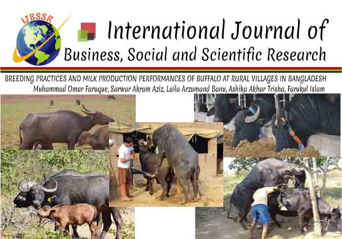 BREEDING PRACTICES AND MILK PRODUCTION PERFORMANCES OF BUFFALO AT RURAL VILLAGES IN BANGLADESH