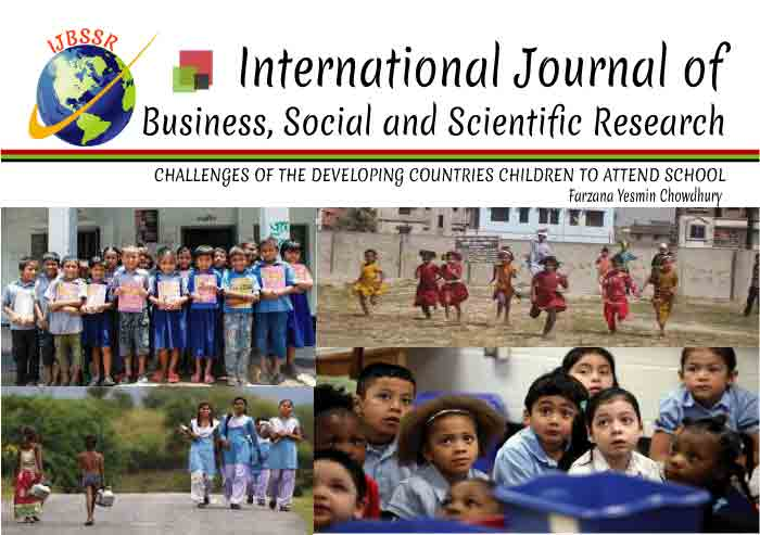 CHALLENGES OF THE DEVELOPING COUNTRIES CHILDREN TO ATTEND SCHOOL
