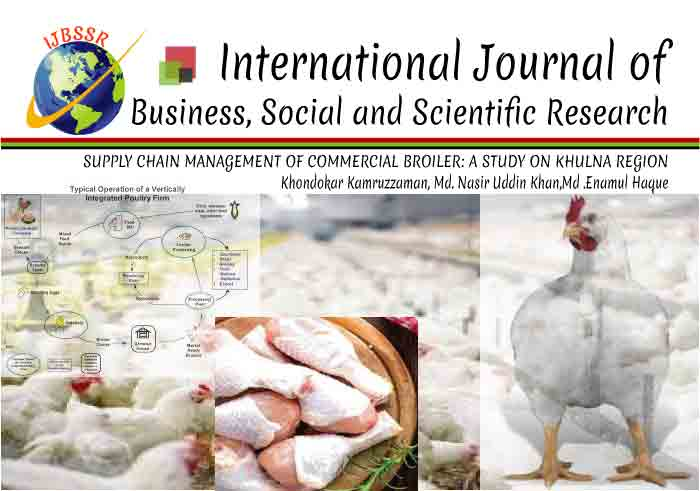 SUPPLY CHAIN MANAGEMENT OF COMMERCIAL BROILER: A STUDY ON KHULNA REGION