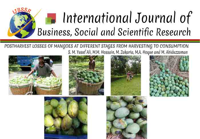 POSTHARVEST LOSSES OF MANGOES AT DIFFERENT STAGES FROM HARVESTING TO CONSUMPTION
