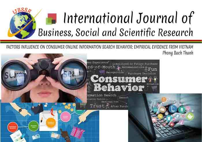 FACTORS INFLUENCE ON CONSUMER ONLINE INFORMATION SEARCH BEHAVIOR: EMPIRICAL EVIDENCE FROM VIETNAM