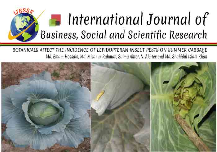 BOTANICALS AFFECT THE INCIDENCE OF LEPIDOPTERAN INSECT PESTS ON SUMMER CABBAGE