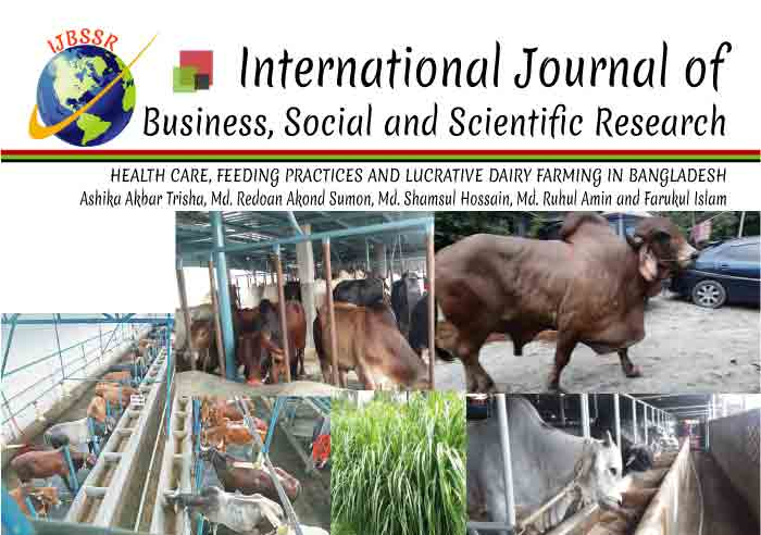 HEALTH CARE, FEEDING PRACTICES AND LUCRATIVE DAIRY FARMING IN BANGLADESH