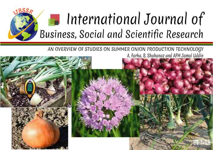 AN OVERVIEW OF STUDIES ON SUMMER ONION PRODUCTION TECHNOLOGY