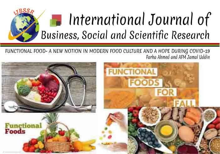 FUNCTIONAL FOOD- A NEW NOTION IN MODERN FOOD CULTURE AND A HOPE DURING COVID-19