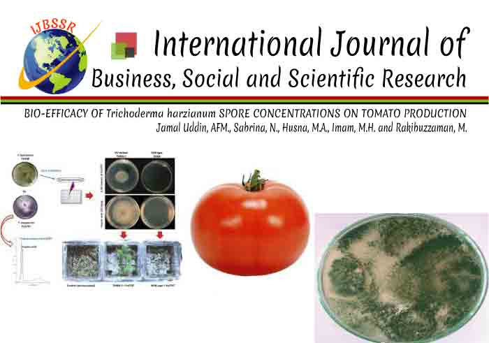BIO-EFFICACY OF Trichoderma harzianum SPORE CONCENTRATIONS ON TOMATO PRODUCTION
