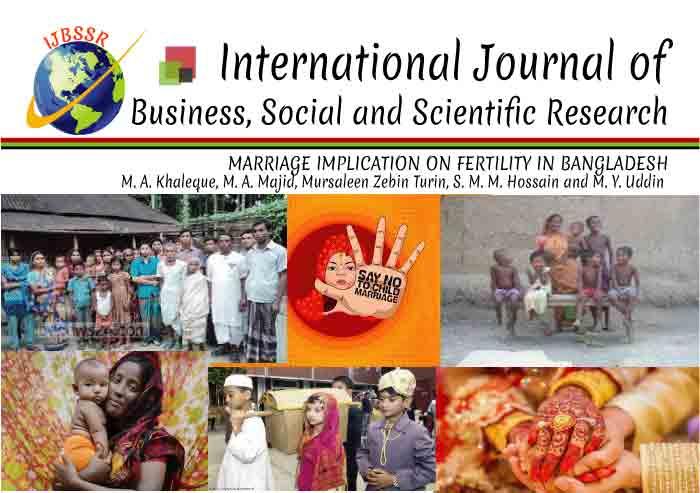 MARRIAGE IMPLICATION ON FERTILITY IN BANGLADESH