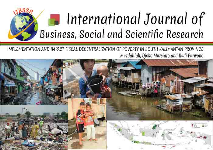 IMPLEMENTATION AND IMPACT FISCAL DECENTRALIZATION OF POVERTY IN SOUTH KALIMANTAN PROVINCE