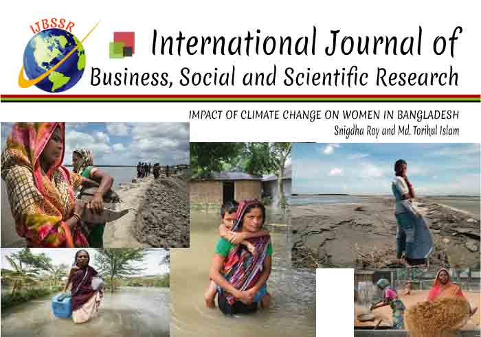 IMPACT OF CLIMATE CHANGE ON WOMEN IN BANGLADESH