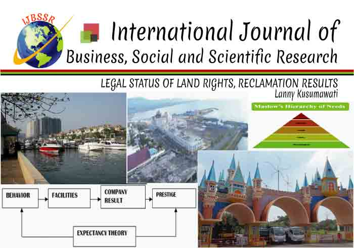 LEGAL STATUS OF LAND RIGHTS, RECLAMATION RESULTS