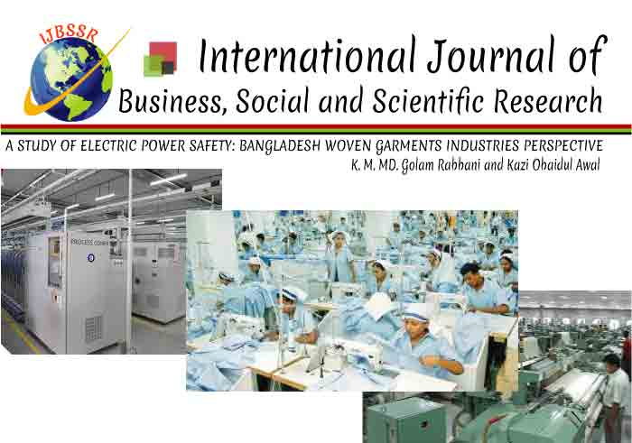 A STUDY OF ELECTRIC POWER SAFETY: BANGLADESH WOVEN GARMENTS INDUSTRIES PERSPECTIVE