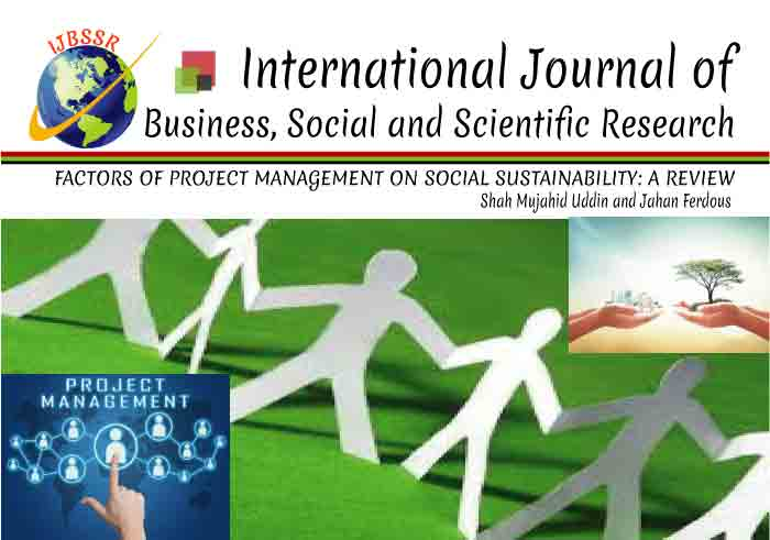 FACTORS OF PROJECT MANAGEMENT ON SOCIAL SUSTAINABILITY: A REVIEW